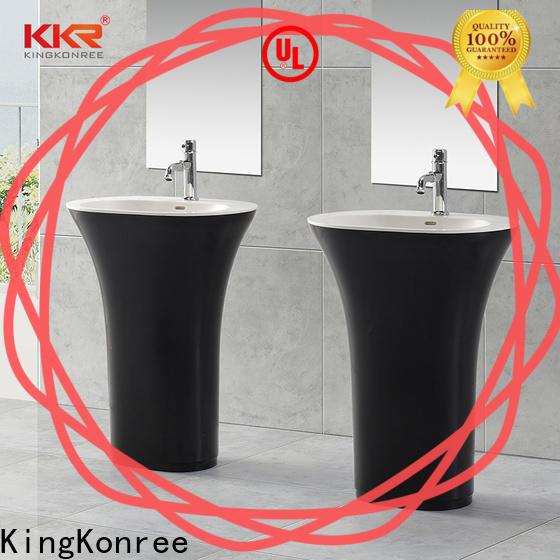 KingKonree free standing wash basin customized for home