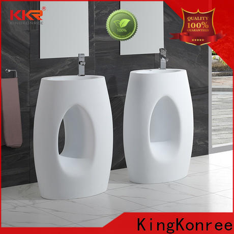 resin bathroom sink stand customized for home