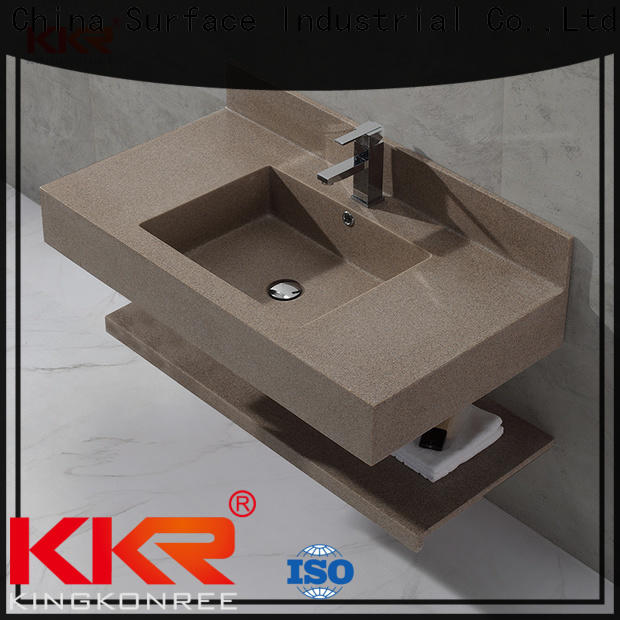slope stainless steel wash basin design for bathroom