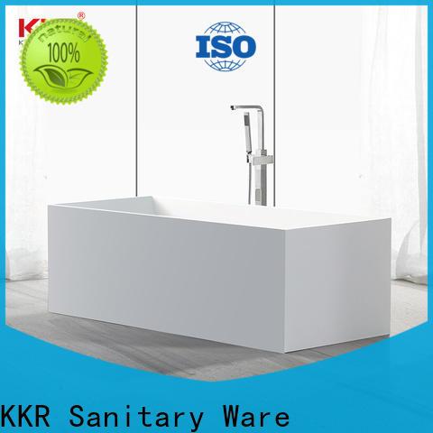 KingKonree high-end bathroom freestanding tub at discount