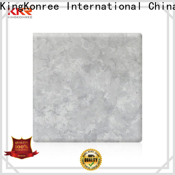 KingKonree solid surface sheets from China for room