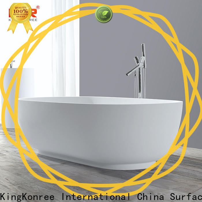 KingKonree modern freestanding tub at discount for bathroom