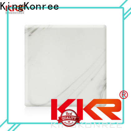 KingKonree solid surface sheets directly sale for room