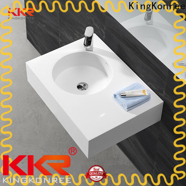 unique wall hung bathroom basins design for home