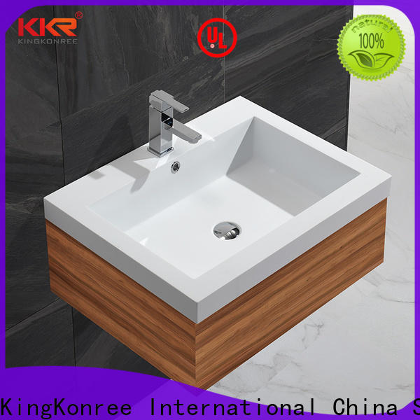 KingKonree rectangular wash basin supplier for bathroom