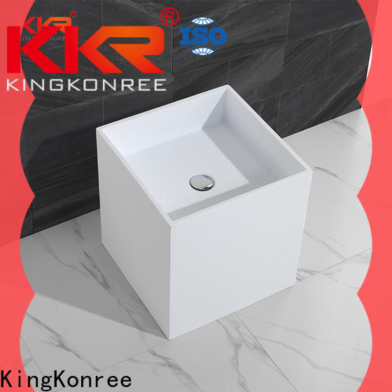 KingKonree stable floor standing basin supplier for hotel