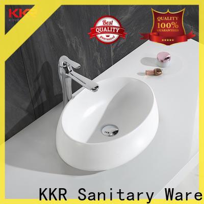 sanitary ware small countertop basin manufacturer for restaurant