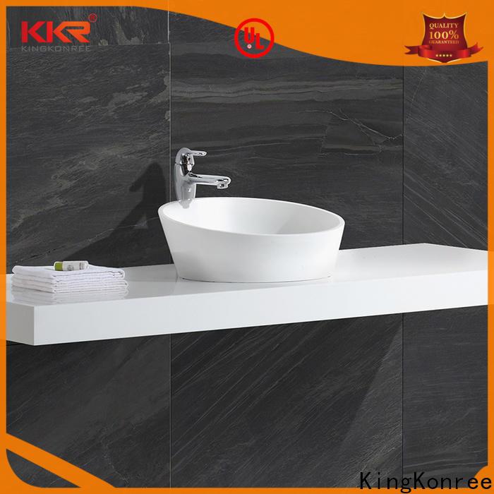 KingKonree elegant above counter vanity basin manufacturer for room