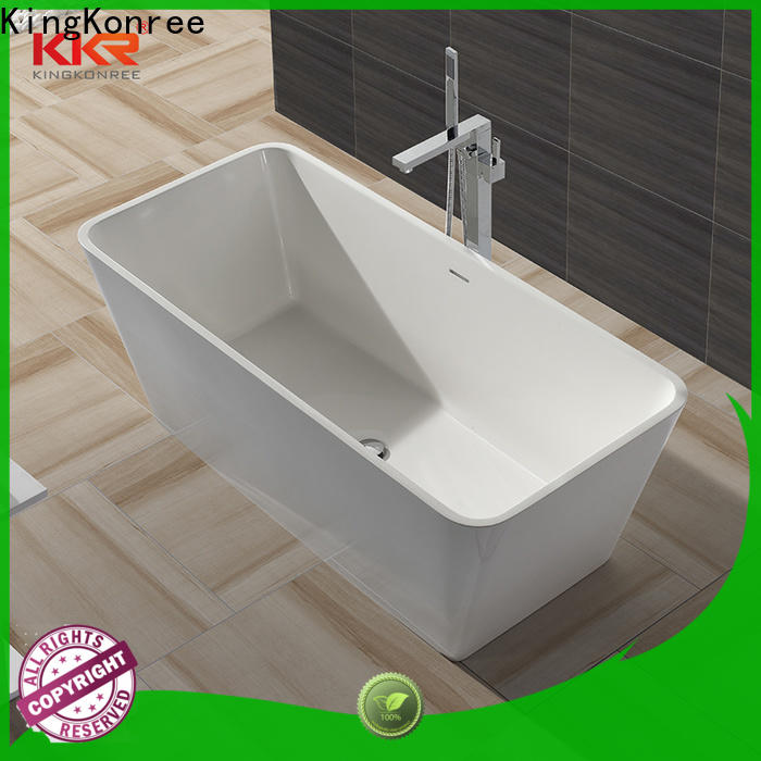 marble solid surface bathtub ODM