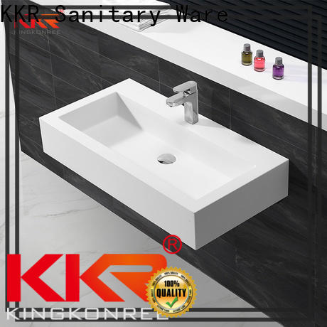 KingKonree stainless steel wash basin customized for hotel