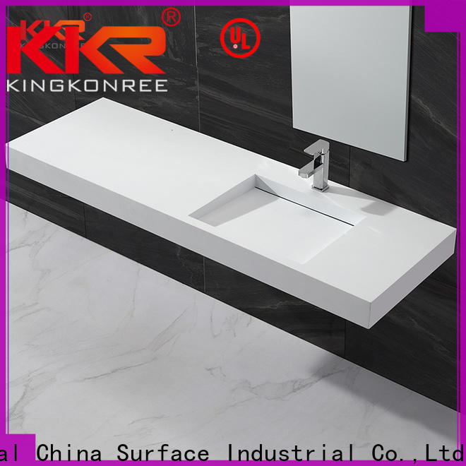 KingKonree stylish wash basin manufacturer for hotel