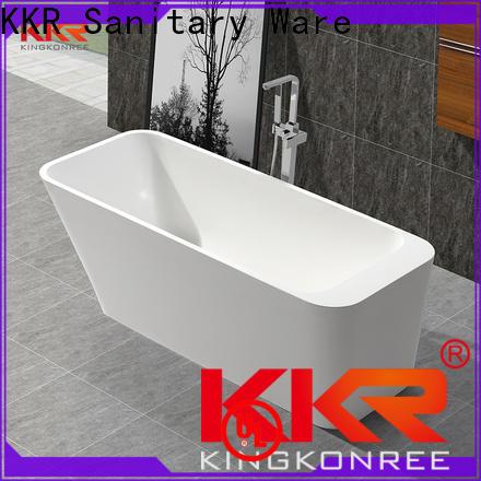 KingKonree stone resin bath at discount for bathroom