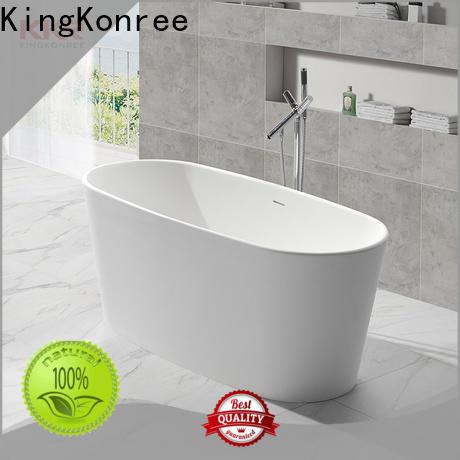 KingKonree rectangular freestanding tub OEM for family decoration