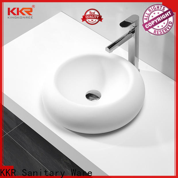 KingKonree durable bathroom countertops and sinks at discount for home