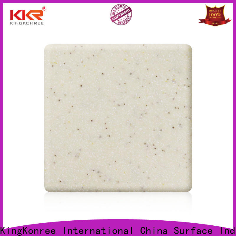 KingKonree green types of solid surface countertops manufacturer for restaurant