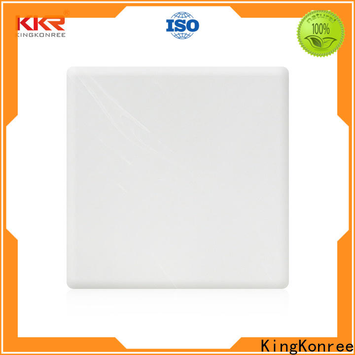 KingKonree black solid surface sheets directly sale for home