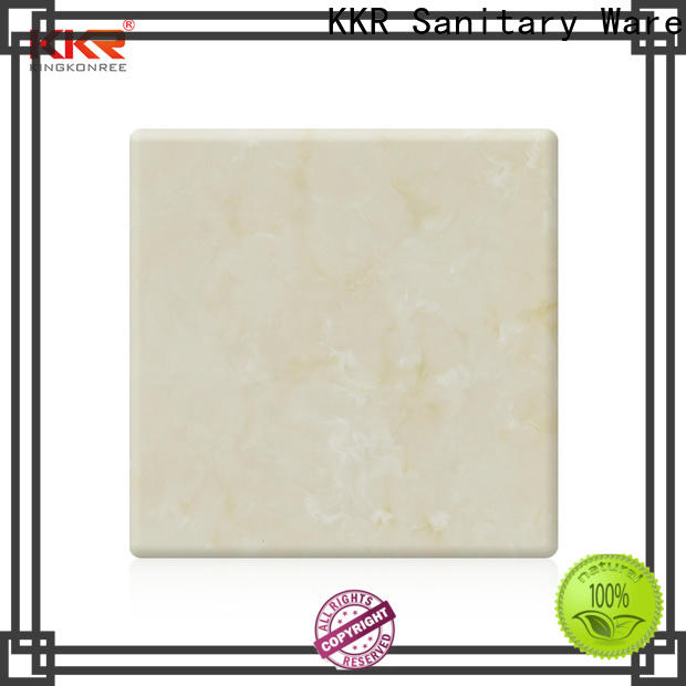 KingKonree reliable solid surface sheets for sale manufacturer for indoors