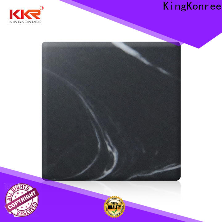KingKonree durable solid surface sheets for sale customized for hotel