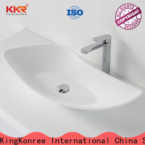 KingKonree approved bathroom countertops and sinks supplier for hotel