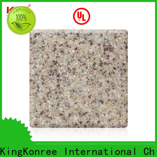 KingKonree reliable acrylic solid surface design for restaurant