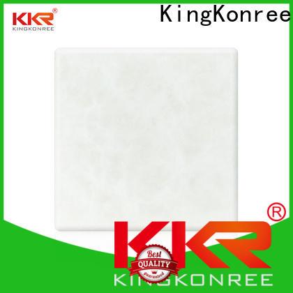 KingKonree solid surface sheets manufacturer for hotel