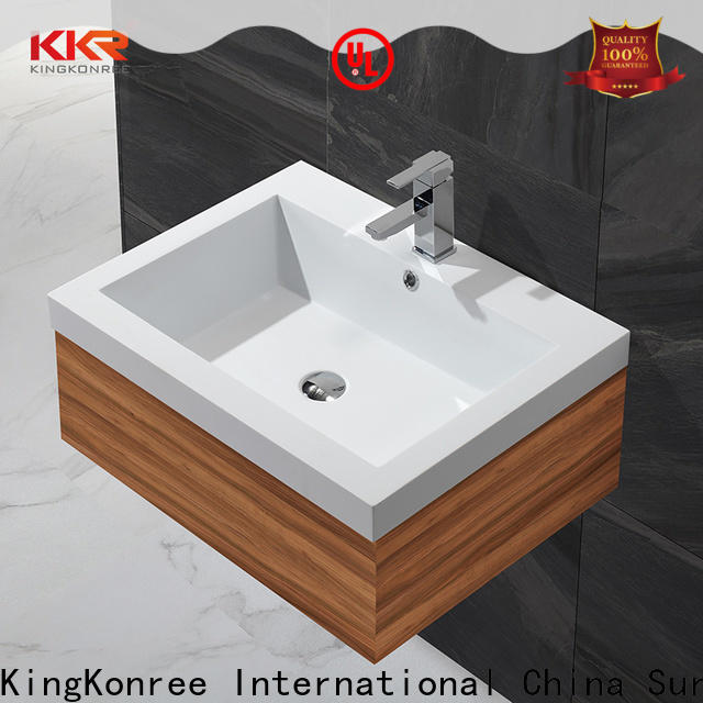 KingKonree rectangular wash basin customized for toilet