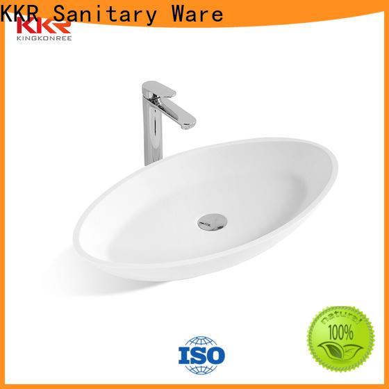 KingKonree sanitary ware top mount bathroom sink manufacturer for home