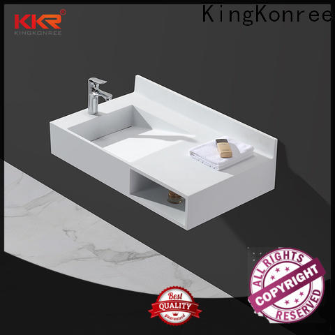 double wall mounted wash basins customized for hotel