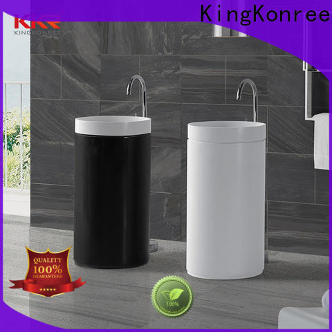 KingKonree floor standing basin supplier for hotel