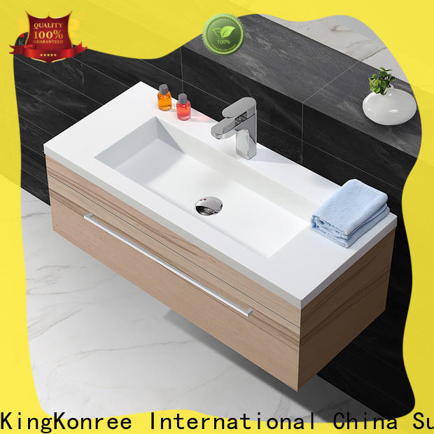 KingKonree rectangular wash basin manufacturer for bathroom