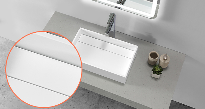 elegant top mount bathroom sink cheap sample for home-5