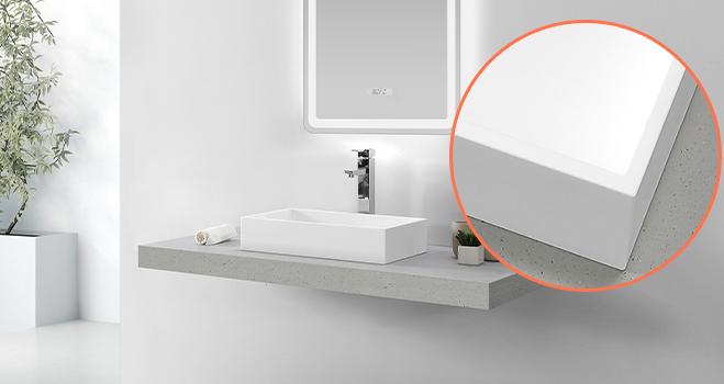 elegant top mount bathroom sink cheap sample for home-6