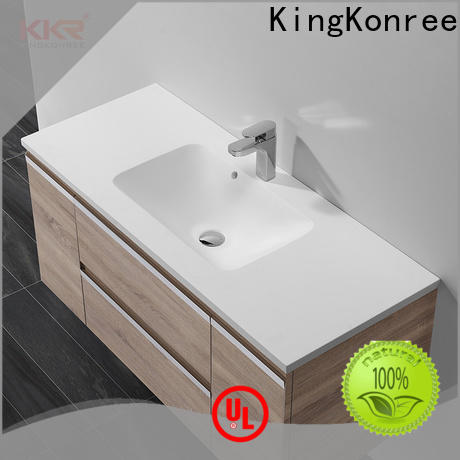 luxurious wash basin with cabinet online supplier for toilet