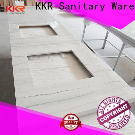 white custom vanity tops sink for motel