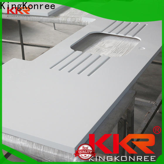 KingKonree solid surface worktops personalized for restaurant