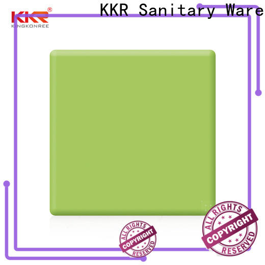 KingKonree red acrylic solid surface countertops manufacturer for room