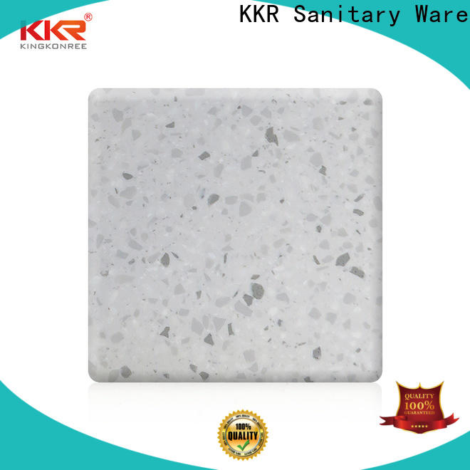 KingKonree solid surface material supplier for hotel