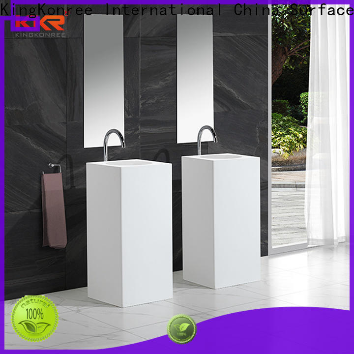 KingKonree height bathroom sink stand supplier for motel