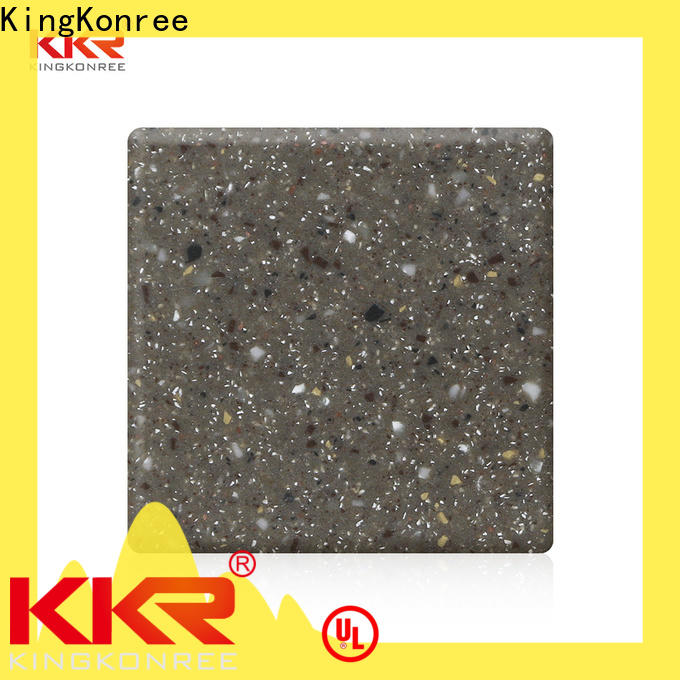 30mm solid surface sheets for sale manufacturer for restaurant