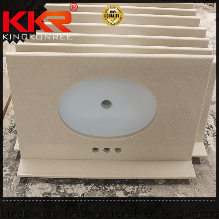 KingKonree bathroom tops manufacturer for hotel