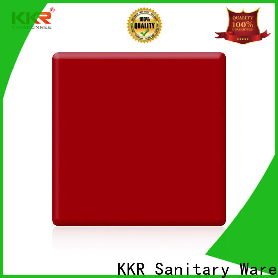 KingKonree hot selling solid surface countertops cost customized for home
