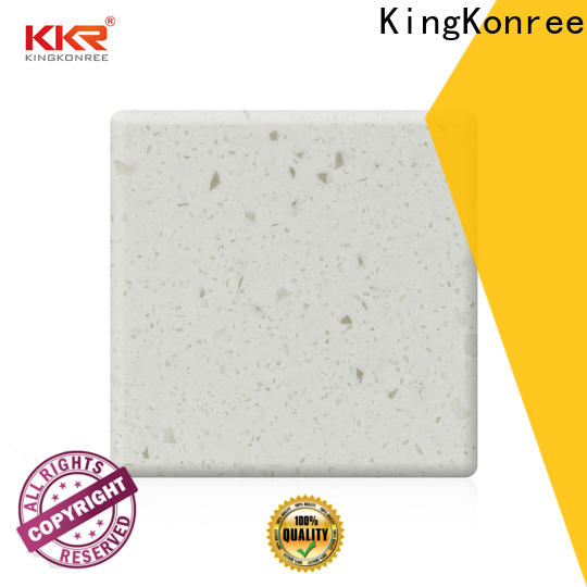 KingKonree artificial solid surface countertops cost customized for hotel