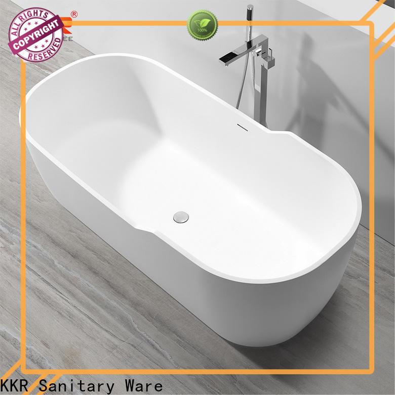 white rectangular freestanding bathtub free design for hotel
