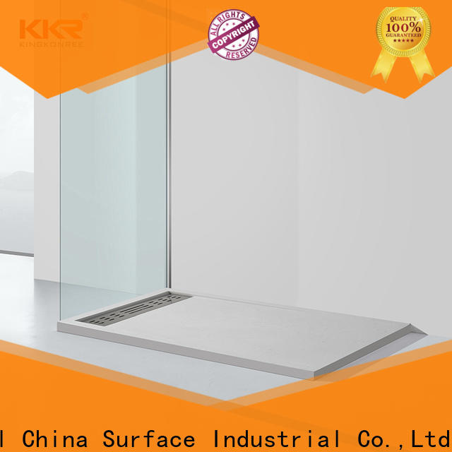 marble narrow shower tray manufacturer for home