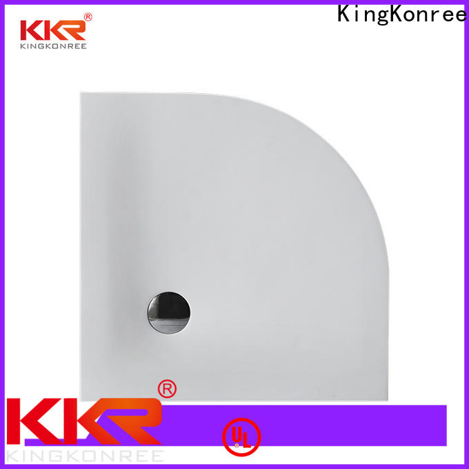 KingKonree square shower tray design for bathroom