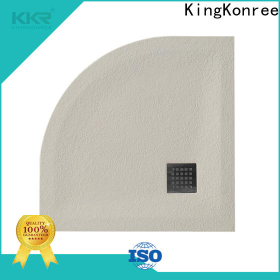 artificial stone resin shower tray top for hotel