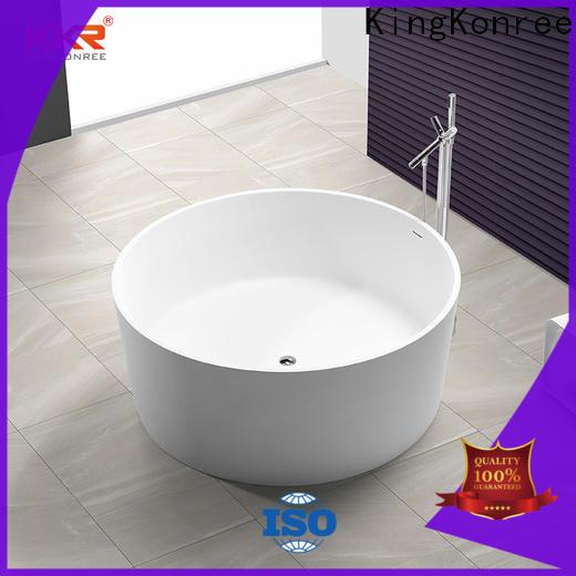KingKonree hot-sale large freestanding bath ODM for shower room