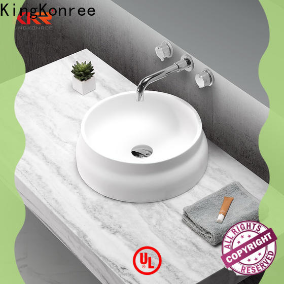 approved above counter vanity basin supplier for room