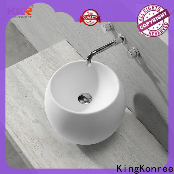 excellent small countertop basin supplier for room
