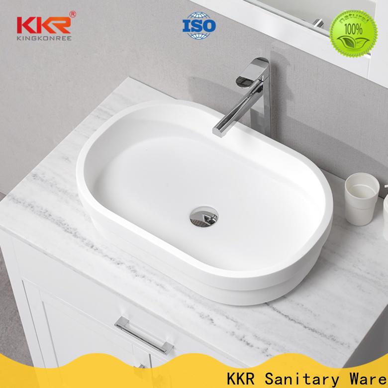 approved top mount bathroom sink design for hotel